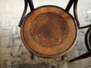 アンティークの修理の基本中の基本!アンティーク家具ベントウッドチェアの木部ぐらつき修理、塗装直し(再塗装)18