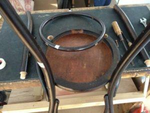 アンティークの修理の基本中の基本!アンティーク家具ベントウッドチェアの修理。木部ぐらつき修理、塗装直し(再塗装)2