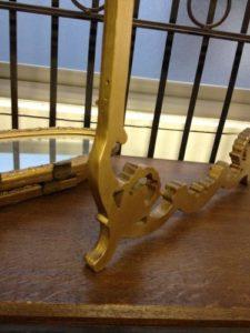 ドレッサーミラー支柱折れの修理6