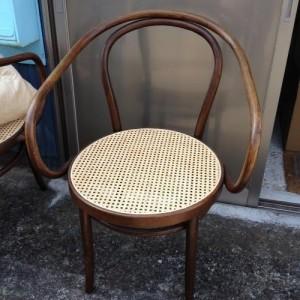 籐の椅子の座面張替3