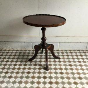 ヴィンテージ ティーテーブル/ワインテーブル/マホガニー E2