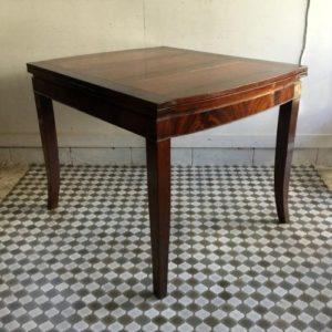 アンティーク マホガニーのドローリーフテーブル/TREVOR,PAGE&Co/イギリス G11 です。