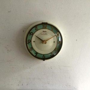 ヴィンテージ Vedetteのウォールクロック(壁掛け時計)/フランス H5