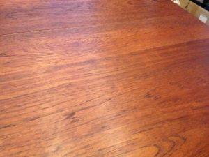 北欧デンマーク GUDME エクステンションテーブルの天板再塗装(塗装直し)8