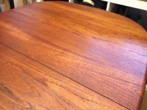 北欧デンマーク GUDME エクステンションテーブルの天板再塗装(塗装直し)9
