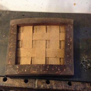 アンティークのオークチェア座面張替。アンティーク家具の修理の実例をご紹介!3