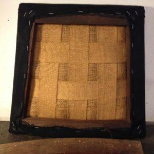 アンティークのオークチェア座面張替。アンティーク家具の修理の実例をご紹介!1