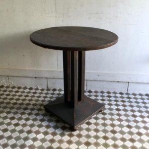 アンティーク カフェテーブル/ビストロ/アールデコ/イギリス B8